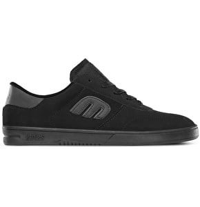 Etnies Lo-Cut Shoes - Black/Black/Black