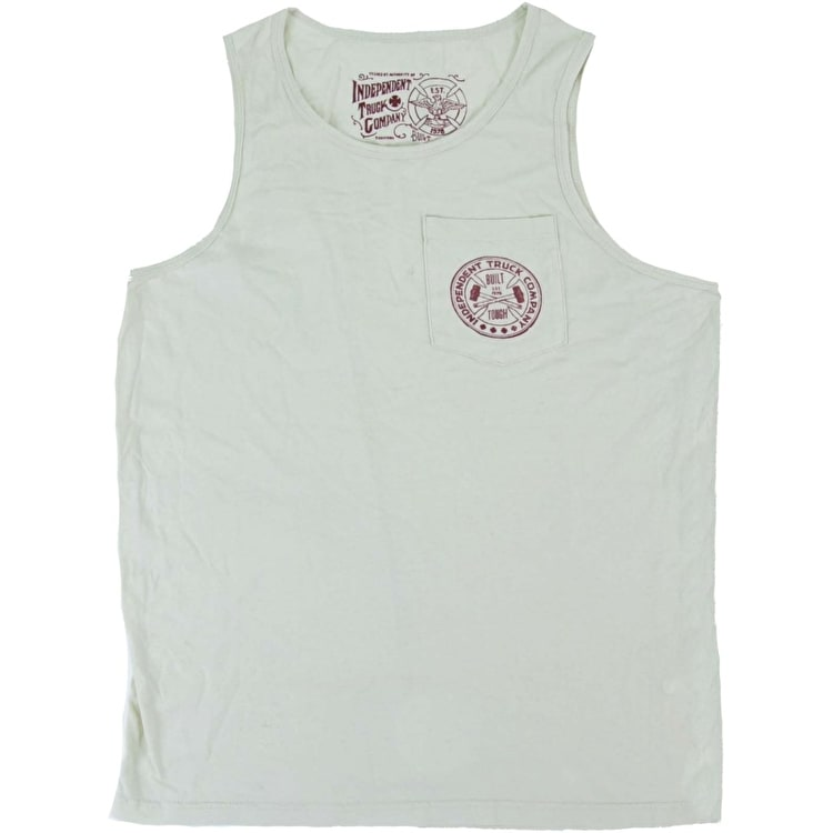 Independent Grind Vest - Bone White