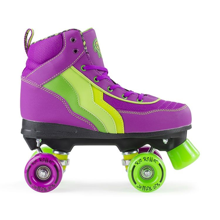 Rio Roller Classic II Quad Roller Skates - Grape