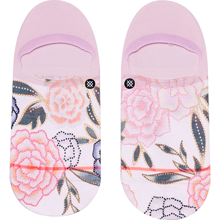 Stance Posie Invisible Socks - Lilac Ice