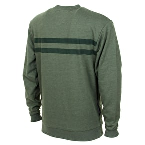 Organika Utility Crewneck - Green Heather