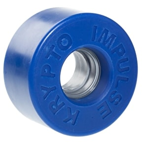 Kryptonics Impulse Quad Skate Wheels - Solid Blue 62mm 78A (8 Pack)