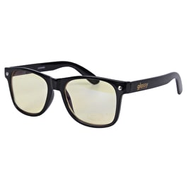Glassy Sunhaters Leonard Gamer Series Sunglasses - Black