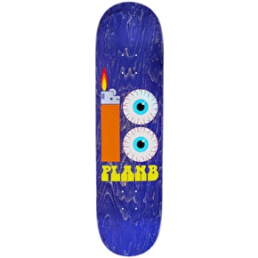 Plan B Team Blood Shot Skateboard Deck - 8.25