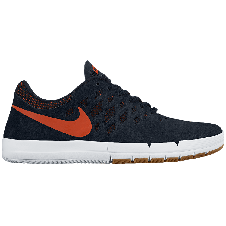 Nike Free SB Shoes - Obsidian/University Orange