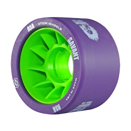 Atom Savant Roller Derby Wheels - Purple 59mm 93A