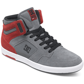 DC Hyjah High SE Shoes - Grey/Dark Red