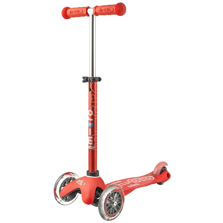 Mini Micro Deluxe Complete Scooter  Red