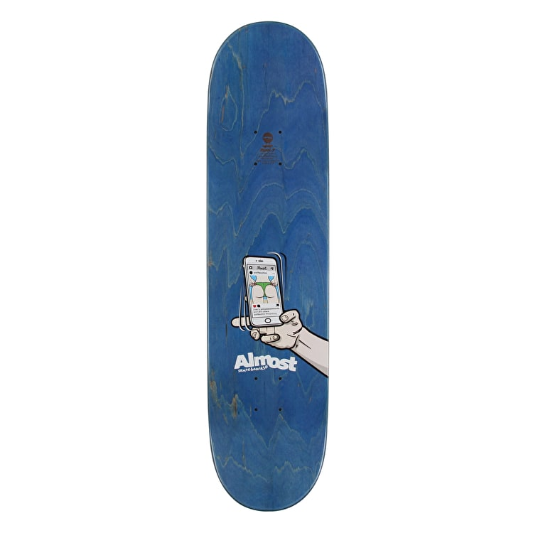 """Almost Augmented Reality Skateboard Deck 8.125"""""""