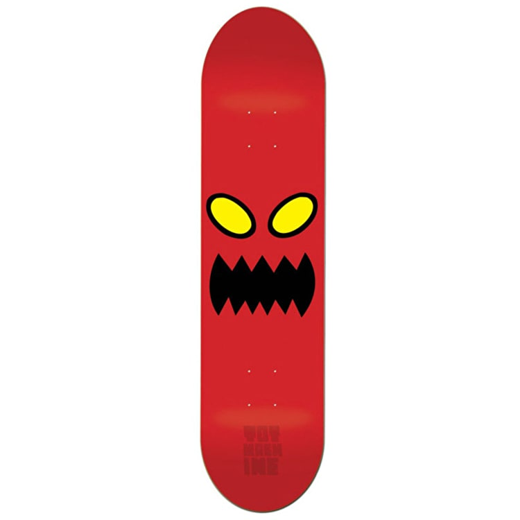 Toy Machine Monster Face Skateboard Deck 8""