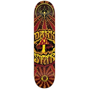 Darkstar Trippy Skateboard Deck - Yellow 7.75