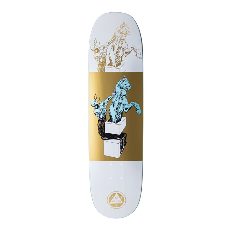 Welcome Hierophant On Moontrimmer 2.0 Skateboard Deck - 8.5""