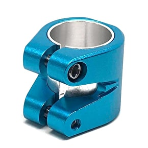 Striker Double Collar Clamp - Blue