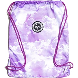 Hype Purple Clouds Drawstring Bag - Multi