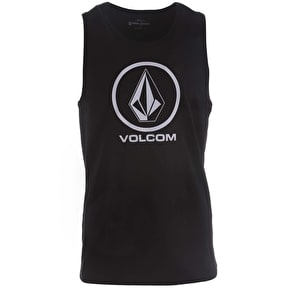 Volcom Kids Circle Stone Tank Top - Black
