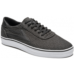 Lakai Manchester Lean Shoes - Black Canvas