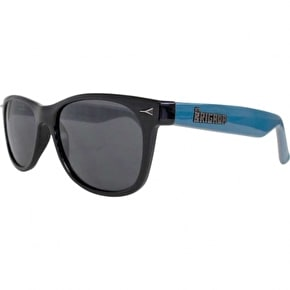 Brigada Terry Kennedy Pro Sunglasses - Black/Teal