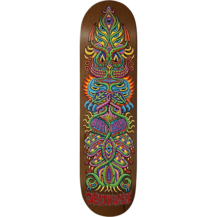 Deathwish Neen Inner Visions Williams Skateboard Deck 8.25""