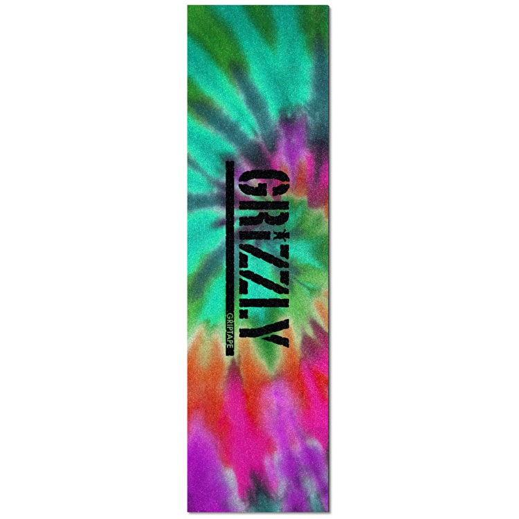 Grizzly Grip Tape - Reverse Stamp Tie-Dye