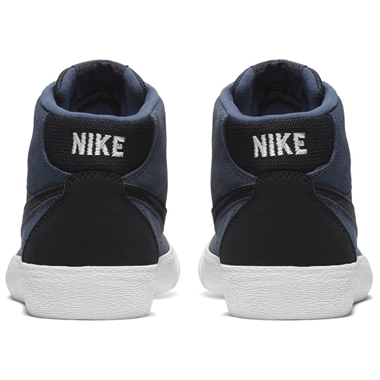 Nike SB Bruin Hi Womens Skate Shoes - Thunder Blue/Black