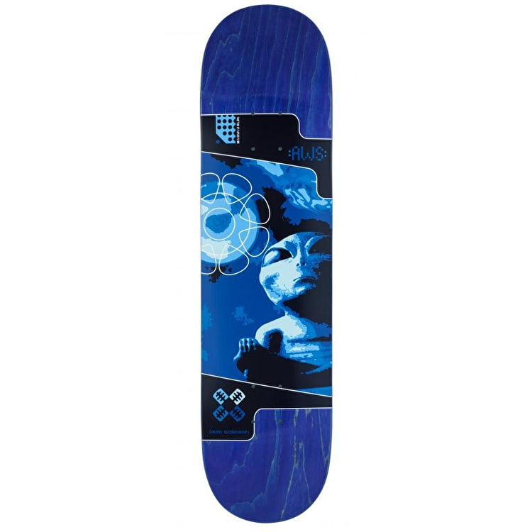 Alien Workshop Mystic Blue Skateboard Deck - 8""