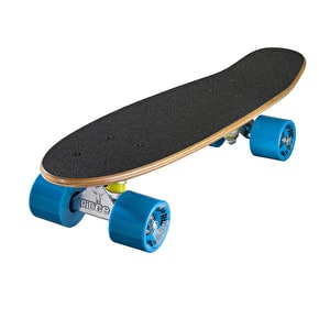 Ridge Mini Cruiser Skateboard - Number Two Dark Dye/Blue 22