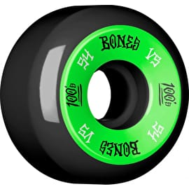 Bones OG 100'S #1 V5 Skateboard Wheels - Black