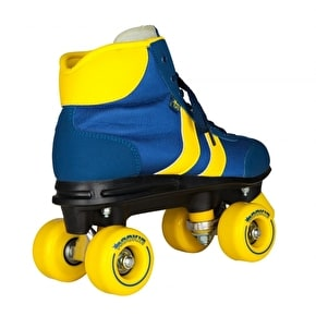 Rookie Retro V2.1 Quad Roller Skates - Blue/Yellow