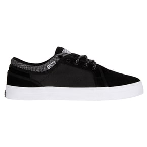 DVS Aversa+ Skate Shoes - Black Suede