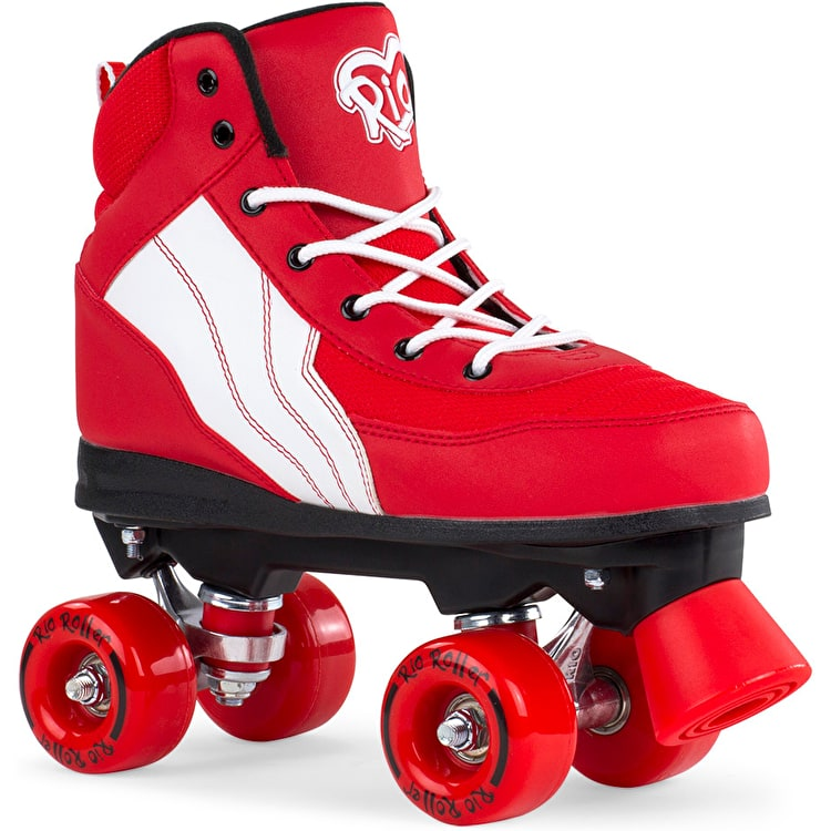 Rio Roller Pure Quad Roller Skates - Red/White