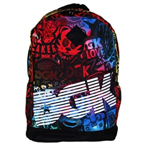 DGK Trippy Angle Deluxe Backpack - Multi
