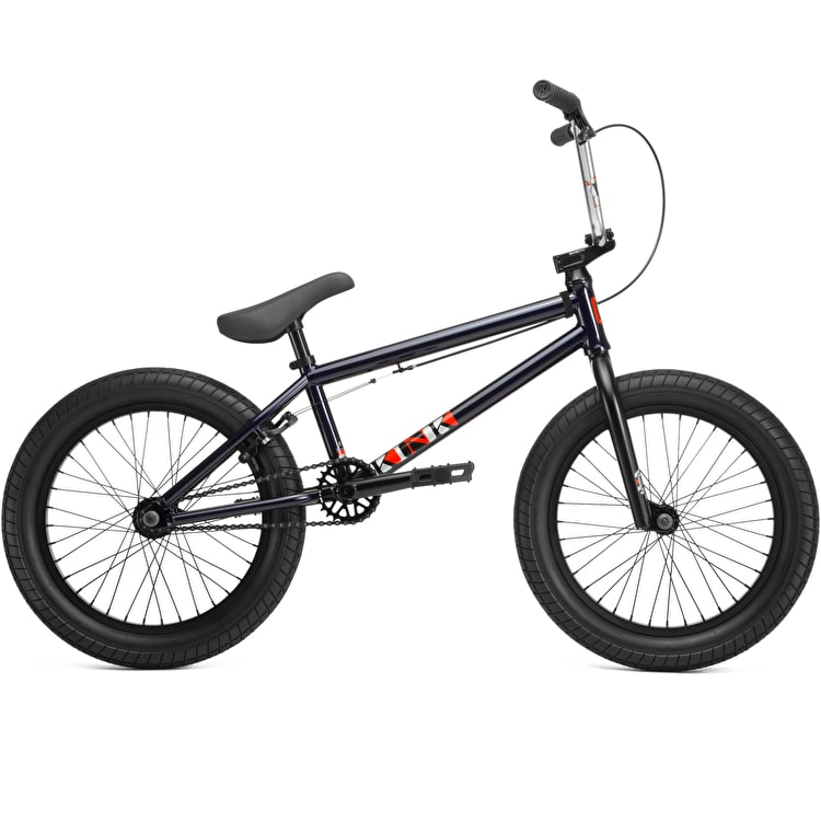 "Kink 2019 Kicker 18"" Complete BMX - Gloss Midnight Blue"