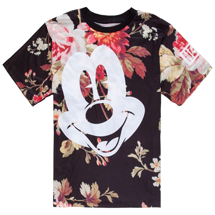 Neff Mickey Face T-Shirt - Floral