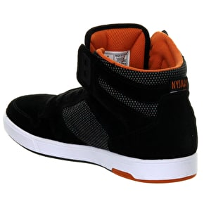 DC Nyjah Vulc SE Shoes - Black/Orange