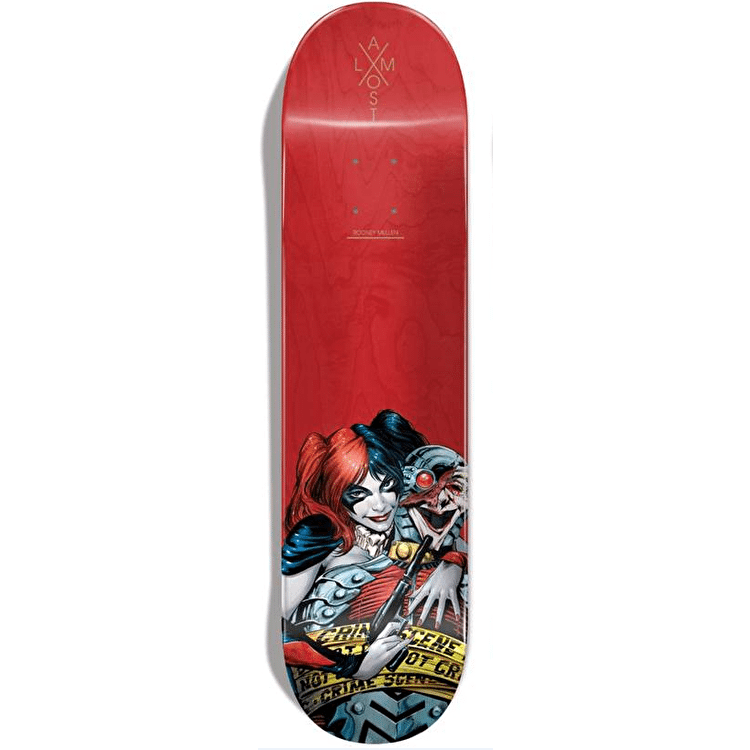 Almost x DC Suicide Squad R7 Skateboard Deck - Mullen 8.125""