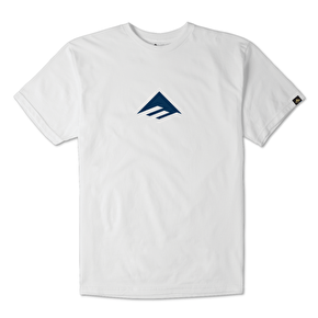 Emerica Triangle T-Shirt - White/Camo