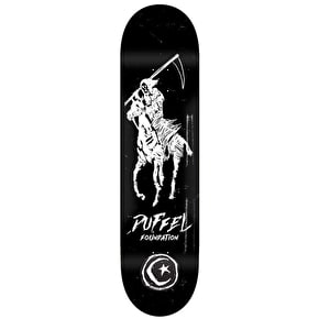 Foundation Duffel Reaper Polo Pro Skateboard Deck - 8.25