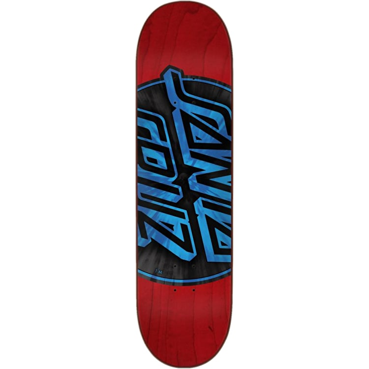 Santa Cruz Warp Dot Skateboard Deck - Red 8.25""