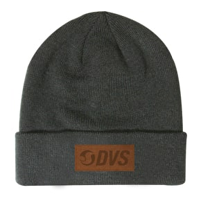 DVS Micro Suede Patch Cuffed Beanie - Grey