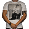 Dennis Morris Johnny Photo B/W T-Shirt White
