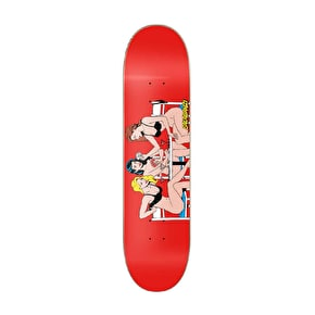 Primitive Salabanzi Strip Skateboard Deck - 8.25