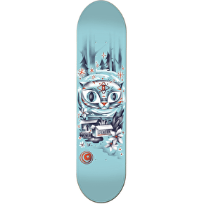 Foundation Spencer Woodwraith Skateboard Deck - 8.25