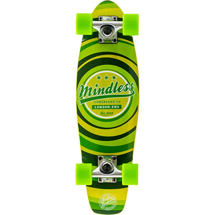 Mindless Stained Daily II Complete Cruiser - Green