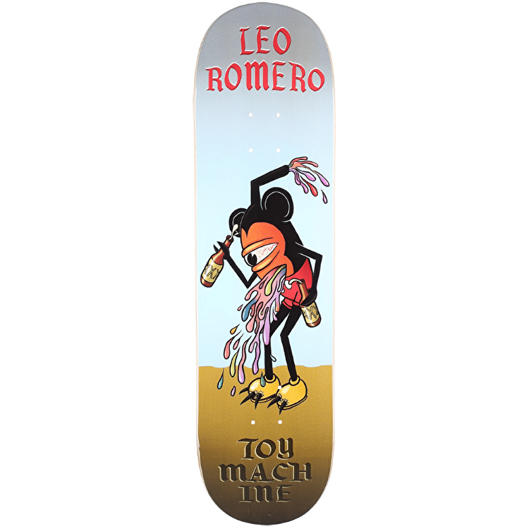 Toy Machine Romero Drunk Mouseketeer Skateboard Deck - 8.375""