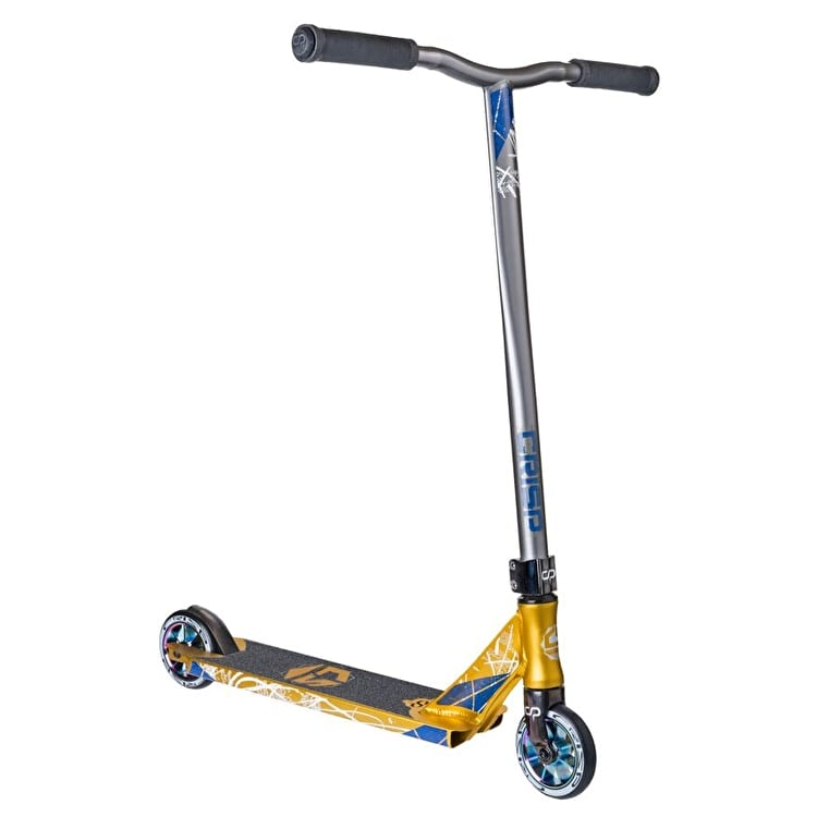 Crisp 2018 Inception Stunt Scooter - Gold/Grey