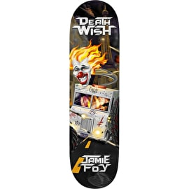 Deathwish Metal Mayhem Foy Skateboard Deck 8.25