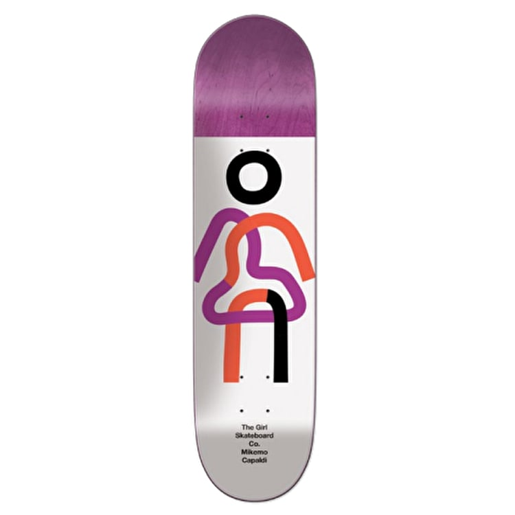 Girl Twisted OG Skateboard Deck - Mike Mo 7.85""