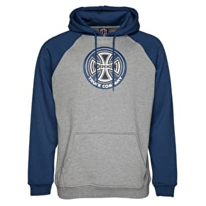 Independent 88TC Raglan Hoodie - Navy/Dark Heather