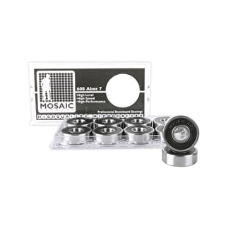 Mosaic Super 1 ABEC 7 Skateboard Bearings (Set of 8)