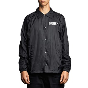 Honey Coach Jacket - Black